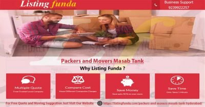 Packers Movers Masab Tank Hyderabad Image of ListingFunda.Com