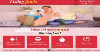 Packers Movers Moosapet Hyderabad Image of ListingFunda.Com