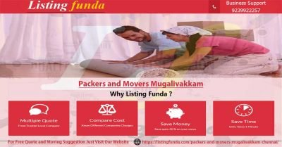Packers Movers Mugalivakkam Chennai Image of ListingFunda.Com