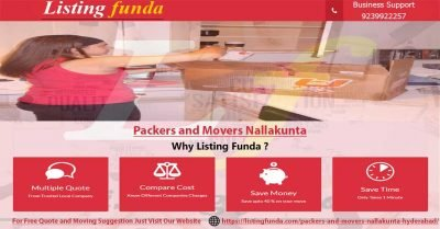 Packers Movers Nallakunta Hyderabad Image of ListingFunda.Com
