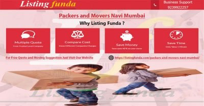 Packers Movers Navi Mumbai Image of ListingFunda.Com