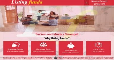 Packers Movers Nizampet Hyderabad Image of ListingFunda.Com