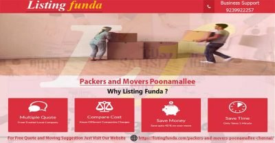 Packers Movers Poonamallee Chennai Image of ListingFunda.Com