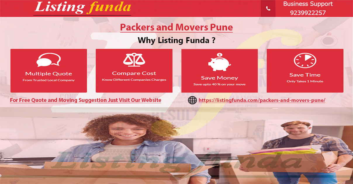 Packers Movers Pune Image of ListingFunda.Com