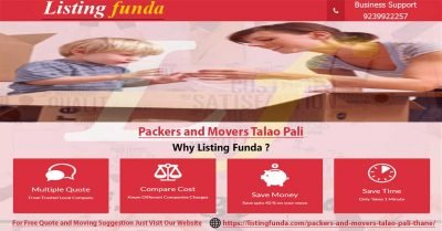 packers movers talao pali thane - ListingFunda.Com