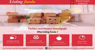 Packers Movers Yousufguda Hyderabad Image of ListingFunda.Com